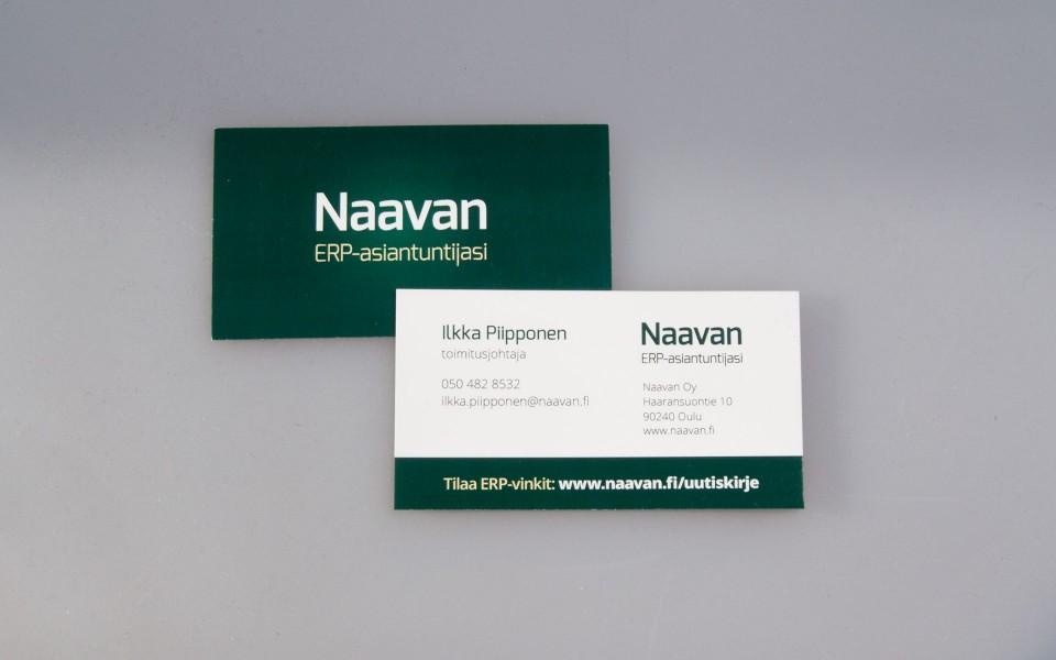 Käyntikortit, Naavan Oy